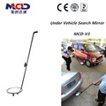 Dia 30cm Round Convex Mirror Under Vehicle Search System Portable Under Auto Detection Mirror Car Inspection System