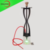 New Style Glass LED Shisha Single Hose Nargile Hookah Wasserpfeife Shisha