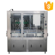 MIC 18 1 Germany standard factory produce automatic beer aluminum Can filling sealing machine 1500CPH with CE