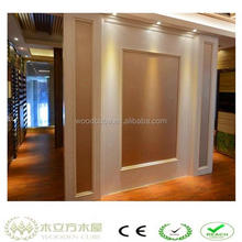 WPC wooden wall TV panelling designs,TV background panel
