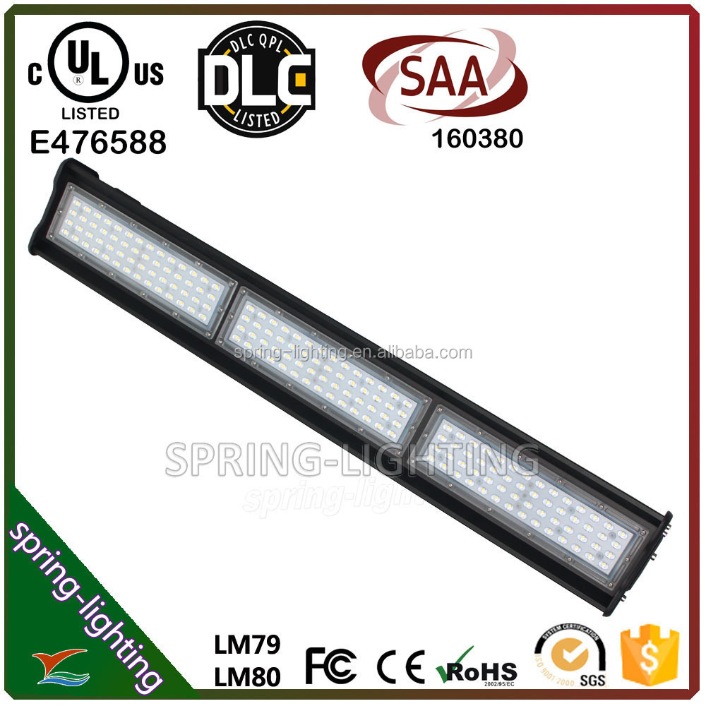 Modern Design SAA approved 200W LED Linear Warehouse Lighting