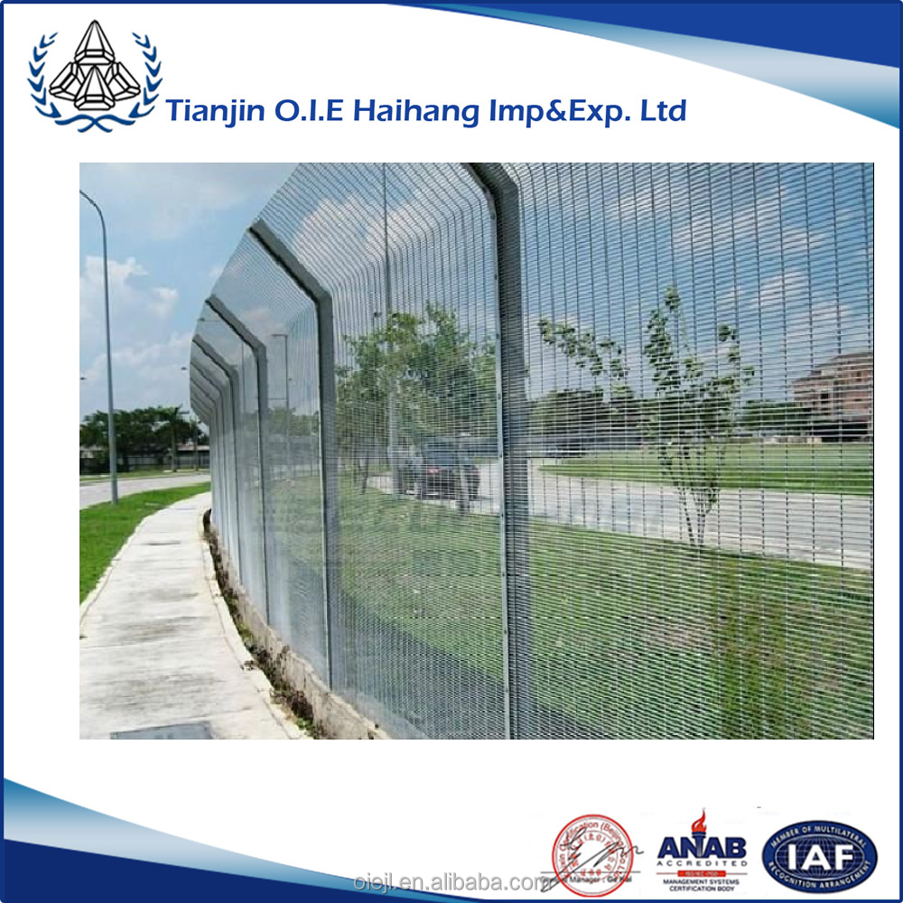 Anti Climb And Anti Cut Fence Security Airport Fence/Safety security airport fence