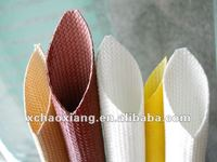 Silicone rubber insulating sleeving/ flexible