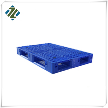 Hot Sale Euro HDPE Heavy Duty Single Faced Plastic Pallet for Smart Warehouse