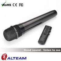 RFD-856M Battery operated 2.4ghz wifi wireless vocal ktv microphone
