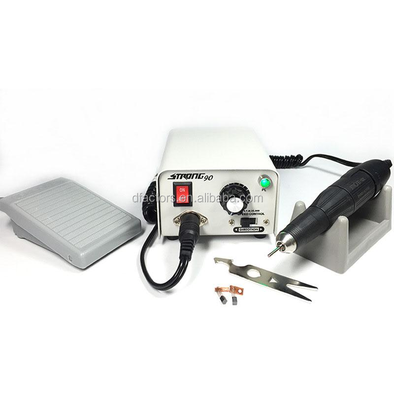 Dental lab rotary polishing brush micromotor set strong 90 in shanghai