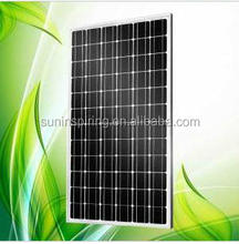 160w mono crystalline solar panel,high efficiency solar cell manufacturer