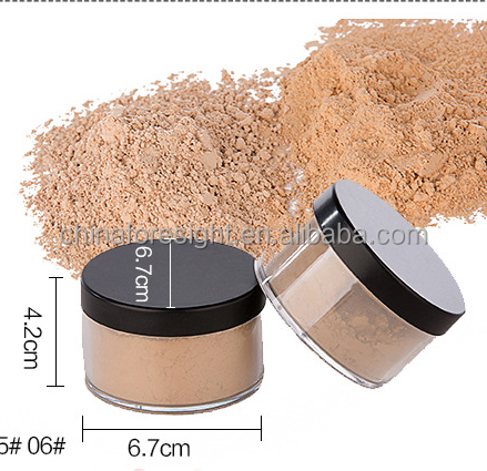 Oem Makeup Professional silky loose powder face powder