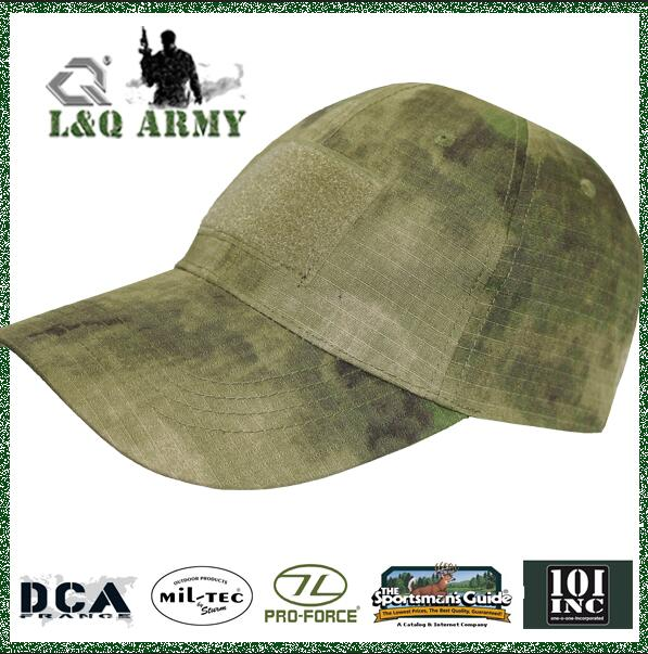 Tactical Constructed Operator Cap Removable Hook And Loop patch