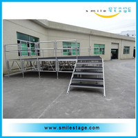Aluminum Christmas Party Stage Decoration Manufacturing