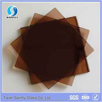 Best selling 4mm5mm6mm colored tempered glass for louver window