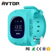 New Good Price kids gps tracker watch phone sos function remote hand-free digital smart watch with real-time gps monitoring