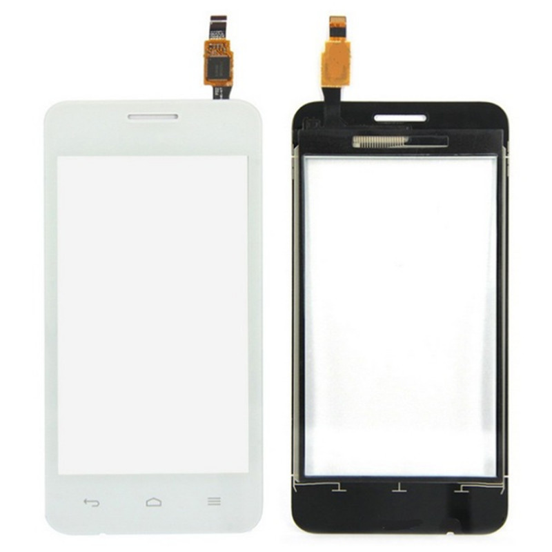 Black/White Original New Touch Screen For Huawei y330 Glass Capacitive sensor For huawei y330 Touch Screen panel Black