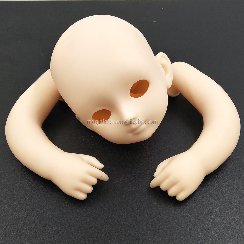 wholesale doll supplies making oem soft vinyl reborn baby doll parts kits