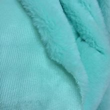 Harmless Material Faux Rabbit Fur For Curtain Bag Blanket 100 Polyester Shaggy Plush Fabrics