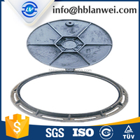 Cast Grey Iron Die Casting Rocker Anti-theft Manhole Cover