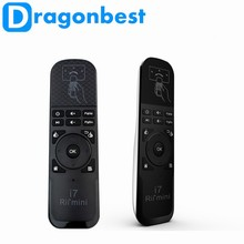 Wireless Rii Mini i7 Air Mouse Keyboard Remote For HTPC Android TV Box with white ,black color