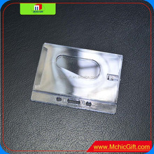 Simple High-quality hard plastic credit Custom Promotional Cheap RFID Card Holder