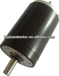 35mm coreless brush motor dc motor 12v 100w