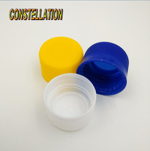 28mm spill proof plastic water bottle caps with for beverage bottle