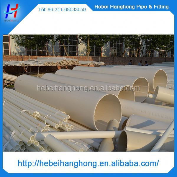 Trade Assurance Supplier 12 inch diameter pvc pipe