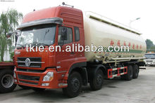 Big capacity 40000L Dongfeng 8x4bulk powder goods tank truck