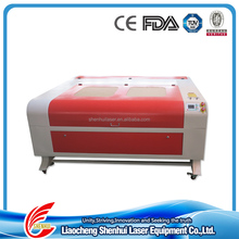 ISO 100w acrylics laser cutting engraving machine