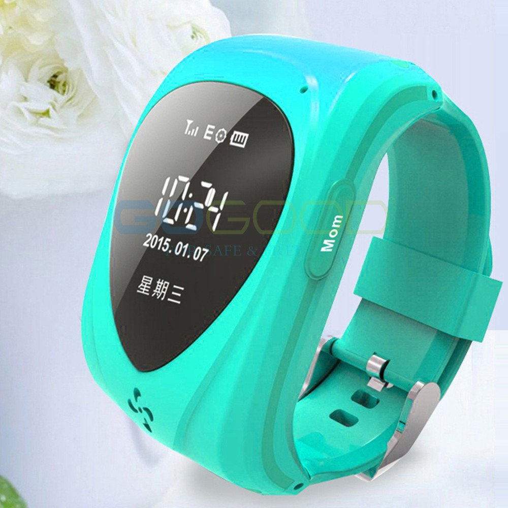 Factory Hot selling, wrist watch gps tracking,GPS TK09