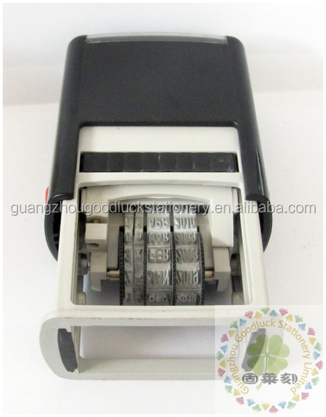 Wholesale dater rubber stamp in Guangzhou/Excellent grade dater rubber stamp