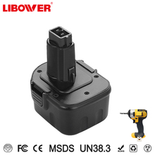 multi-function and durable power tool battery for dewalt NI-MH 12v battery with high quality 2000mah 3A 1.5A