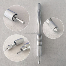 2 heads micro blading pen for eyebrow embroidery