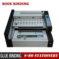 Automatic Glue binding machine book binding machine