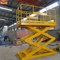 5 ton warehouse hydraulic cargo scissor lift for sales
