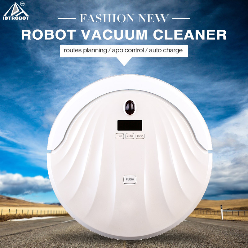 Factory direct sale high quality robot vacuum cleaner with mop uv light recharging