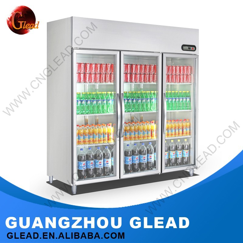 Kitchen Equipment for Restautant chest freezer used supermarket refrigerator and freezer