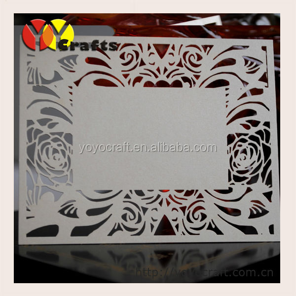 laser cut handmade favor indian wedding favors wholesale printed thank you card sayings