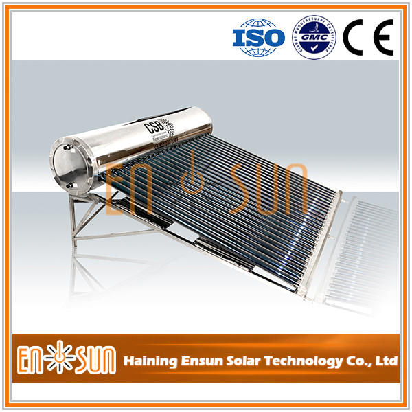 China supplies portable flat plate solar water heater collector price