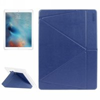 ENKAY Transformers Style Horizontal Flip PU+ TPU Leather Case for iPad Pro Holder Sleep/Wake-up Case for iPad Pro 12.9 inch