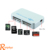 Ranphys driver USB3.0 aluminum alloy smart mini 5 pin high speed writer multifution MS,CF,M2,SD,SM/XD,T-FLASH memory card reader