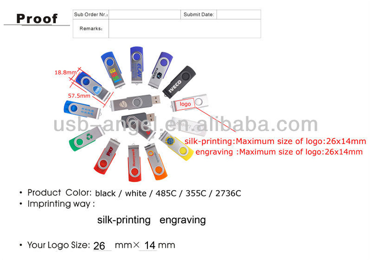 256gb usb pen drive 3.0 interface rotate usb memory stick bulk cheap usb cool design