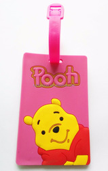 PVC Luggage Tags Manufacture Animation Printed Cute Bag Tags Wholesale