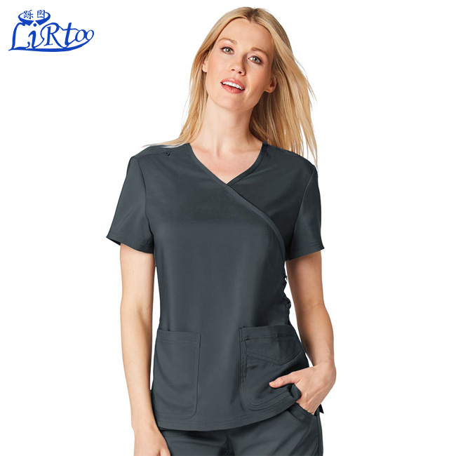 Wholesale designer europe hospital medical scrubs top