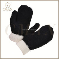 Professional mould design factory directly half finger knit gloves