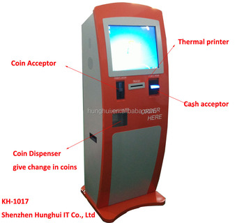 Public Application self service ordering touch screen kiosk for restaurant