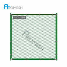 1 inch 5 feet galvanized chain link fence ( ISO9001 Manufacturer)