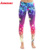 Polyester and Spandex Custom 3D pattern Sports leggings