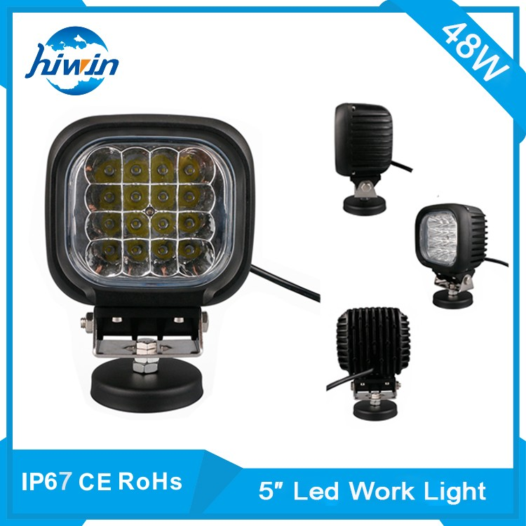 Hiwin 27W 4.2 Inch Square Ip68 Waterproof Rate 27w Off-Road Led Work Lights