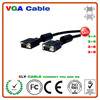 High Quality thin film 3+4 Constructures cheap vga cable