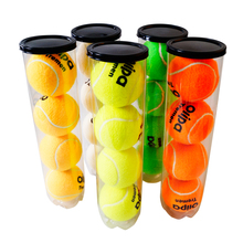 Manufacturer high quality wool hard 70 mm cricket tennis ball in tube can packing