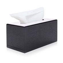 Personal hotel napkin holder wooden tissue box